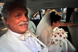66-летний Микеле Плачидо женился на молодой актрисе