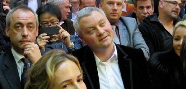 Игорь Янковский на аукционе во Франции