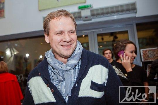 Телеведущий Юрий Кот