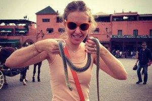 Собчак отпраздновала день рождения со змеями
