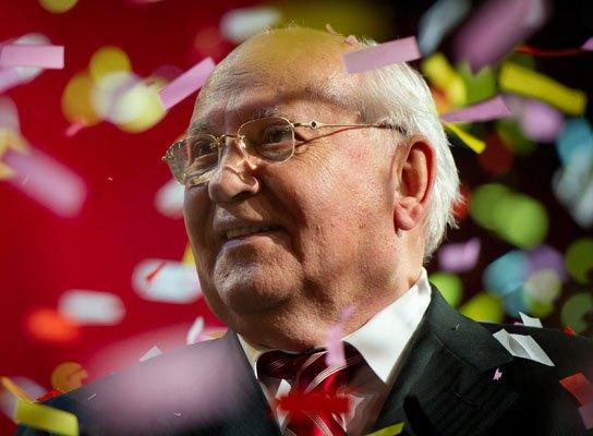 80-летие Михаила Горбачева отмечали в Лондоне