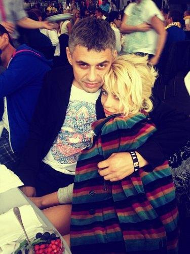 Тина Кароль с Евгением Огиром