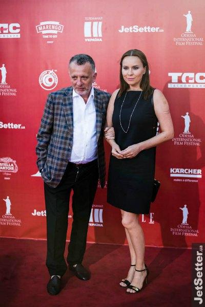 """Одесский ресторатор Савелий Либкин давно выходит в свет с ведущей """"Интера"""" Анастасией Даугуле"""