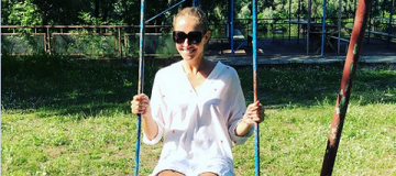 """Катя Осадчая побывала в """"самом лучшем месте в мире"""""""