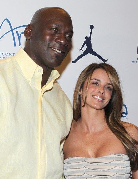 Майкл Джордан с будущей женой