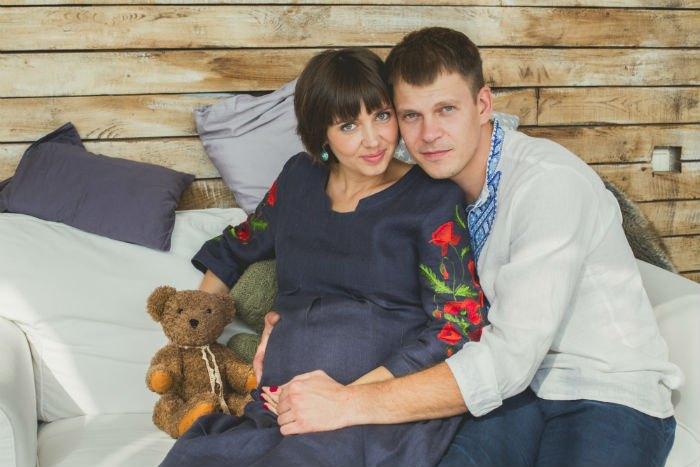 Андрей Исаенко с женой Олесей Моргунец-Исаенко