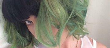 """Кэти Перри """"позеленела"""""""