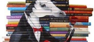 Рисунки на переплетах книг