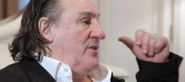 Жерара Депардье оштрафовали на €4 тыс. за езду в пьяном виде