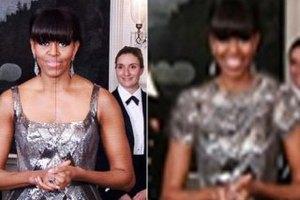 """Иранские СМИ """"одели"""" Мишель Обаму"""