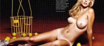 Playboy раздел сербскую теннисистку