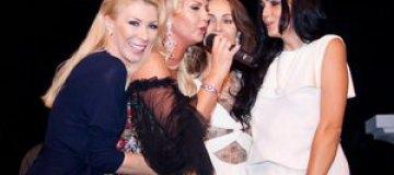 Экс-жена Шуфрича отпраздновала день рождения с Камалией