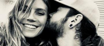 45-летняя Хайди Клум обручилась с 29-летним музыкантом