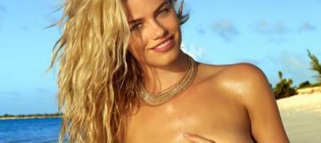 """""""Современная секс-бомба"""" Хейли Клаусон топлесс рекламировала купальники"""