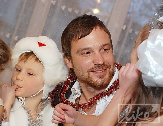 Алексей Чадов с детьми