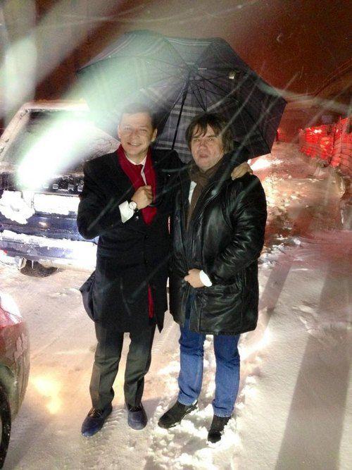 Олег Ляшко и Вадим Карасев грелись в пробке водкой