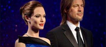 Новые восковые фигуры Питта и Джоли