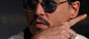 Джонни Депп почти ослеп на один глаз