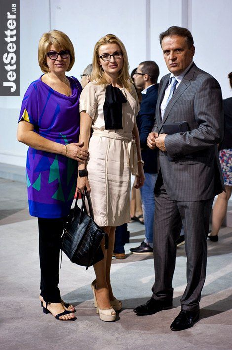 Супруга политика Анатолия Кинаха Марина с дочкой Натальей Ковалко