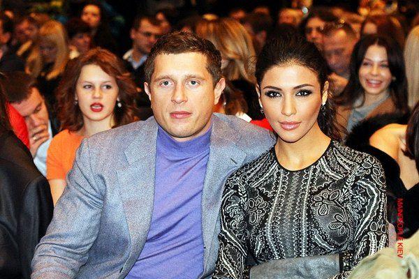 Владимир Самсоненко с женой Сантой