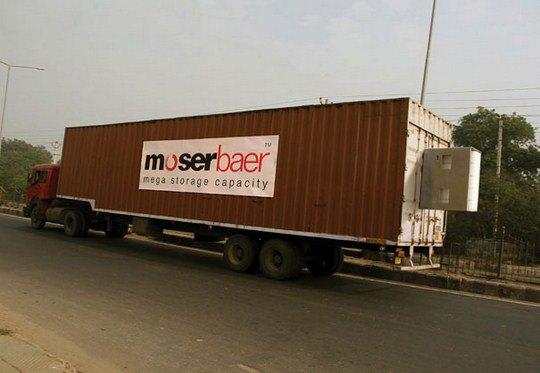 Носители информации Moserbaer: USB-грузовик