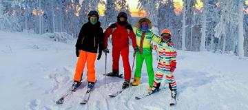 Сергей Бабкин увез семью в Лапландию