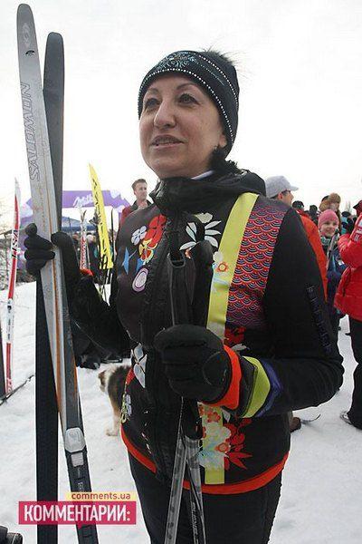 Галина Герега на соревнованиях