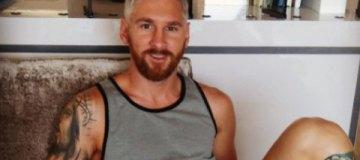 Лео Месси стал блондином