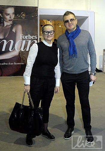 Телеведущий Юрий Горбунов с супругой Людмилой