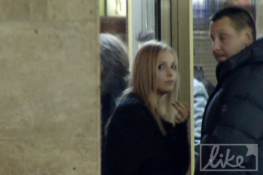 Евгения Тимошенко посетила концерт Scorpions