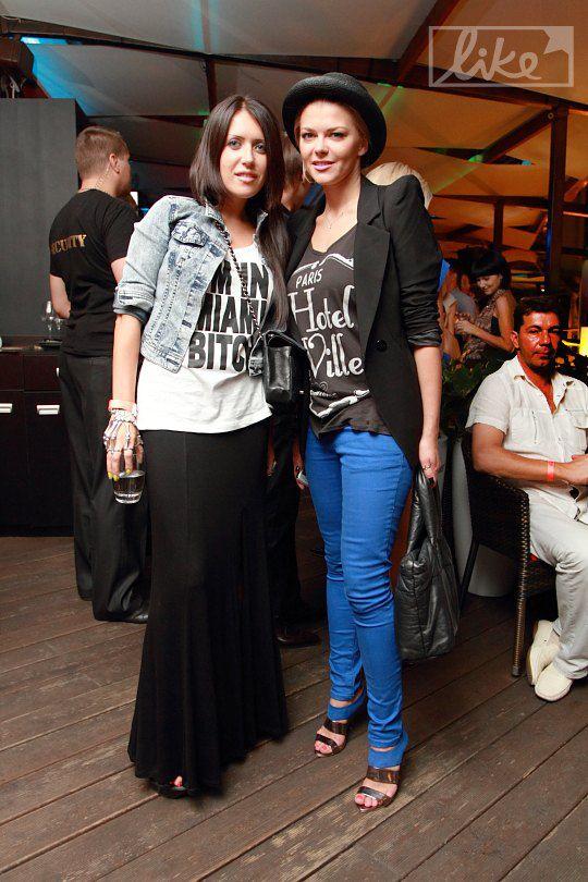 Ирина Блохина (справа)