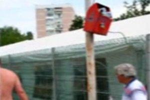 """В столице Румынии оборудовали урны для """"баскетболистов"""""""