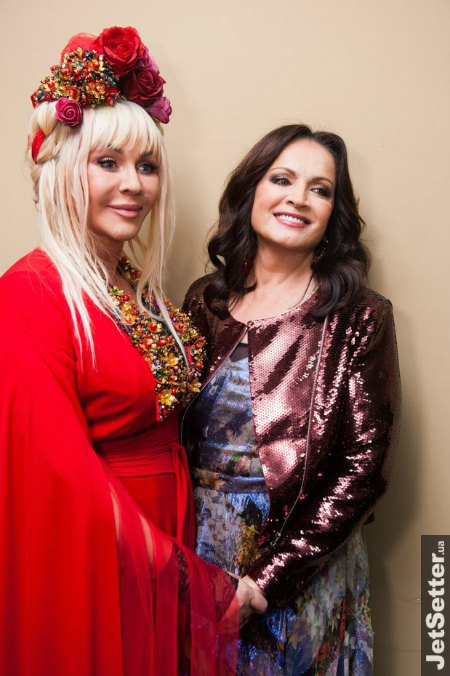 Ирина Билык и София Ротару