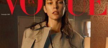 Мила Йовович впервые украсила обложку украинского Vogue