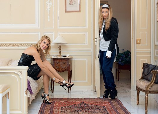 Ксения Собчак и Ника Белоцерковская