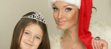 Волочкова обнародовала фото голой дочери