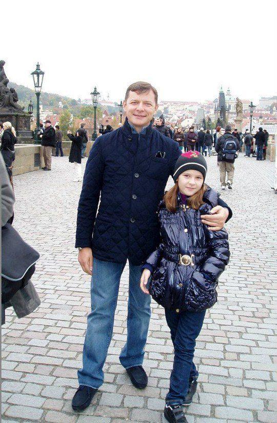 Олег Ляшко отдохнул в Праге с дочкой Владиславой