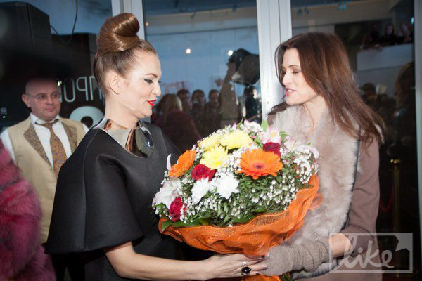 Ольга Ломака и Оксана Фандера
