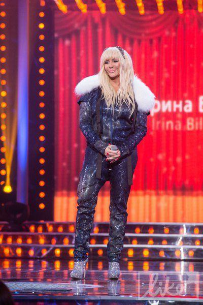 А Ирина Билык была в не самом гламурном своем образе...
