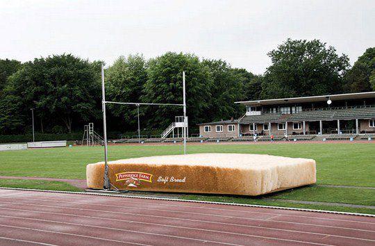 Мягкий хлеб Pepperidge Farm: Мат для прыжков с шестом