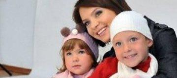 Подкопаева с детьми отмечают праздники в США