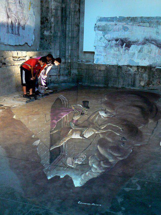 Уличный трехмерный сюрреализм Эдуардо Ролеро