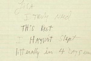 Неизвестное письмо Майкла Джексона выставили на продажу