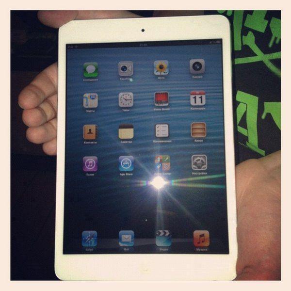 Михаил Галустян подарил iPad mini