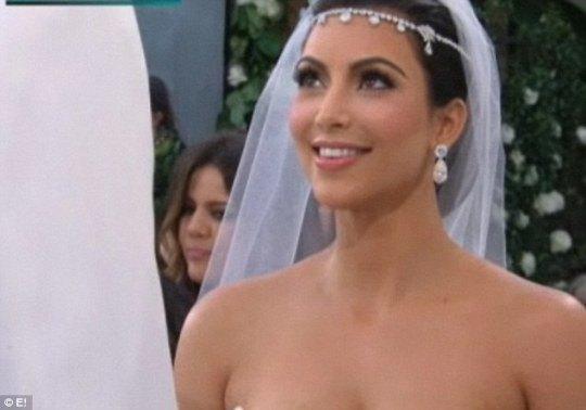 Невеста была ослепительна