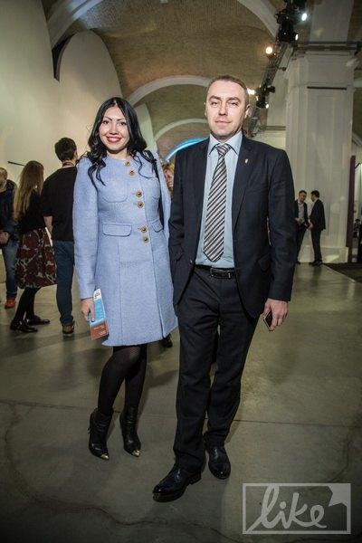 Экс-нардеп Игорь Мирошниченко с женой-телеведущей
