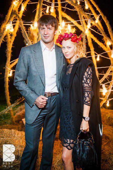 Шовковский и Аленова за год до развода