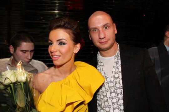 Юля и ее жених, бизнесмен Вадим