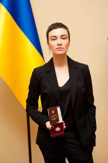 Анастасия Приходько стала заслуженной артисткой в 30 лет