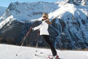 Инна Цимбалюк сломала ключицу в Альпах